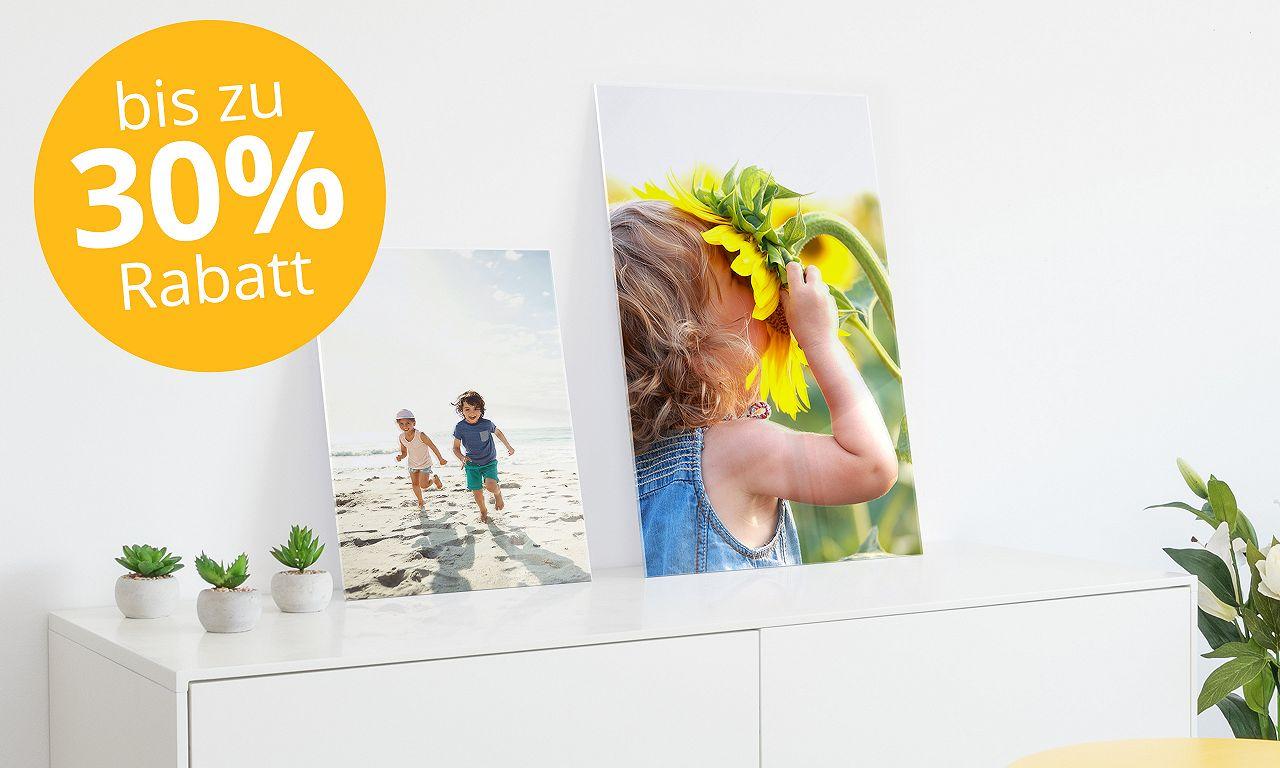 Acrylglas TV bis zu 40%
