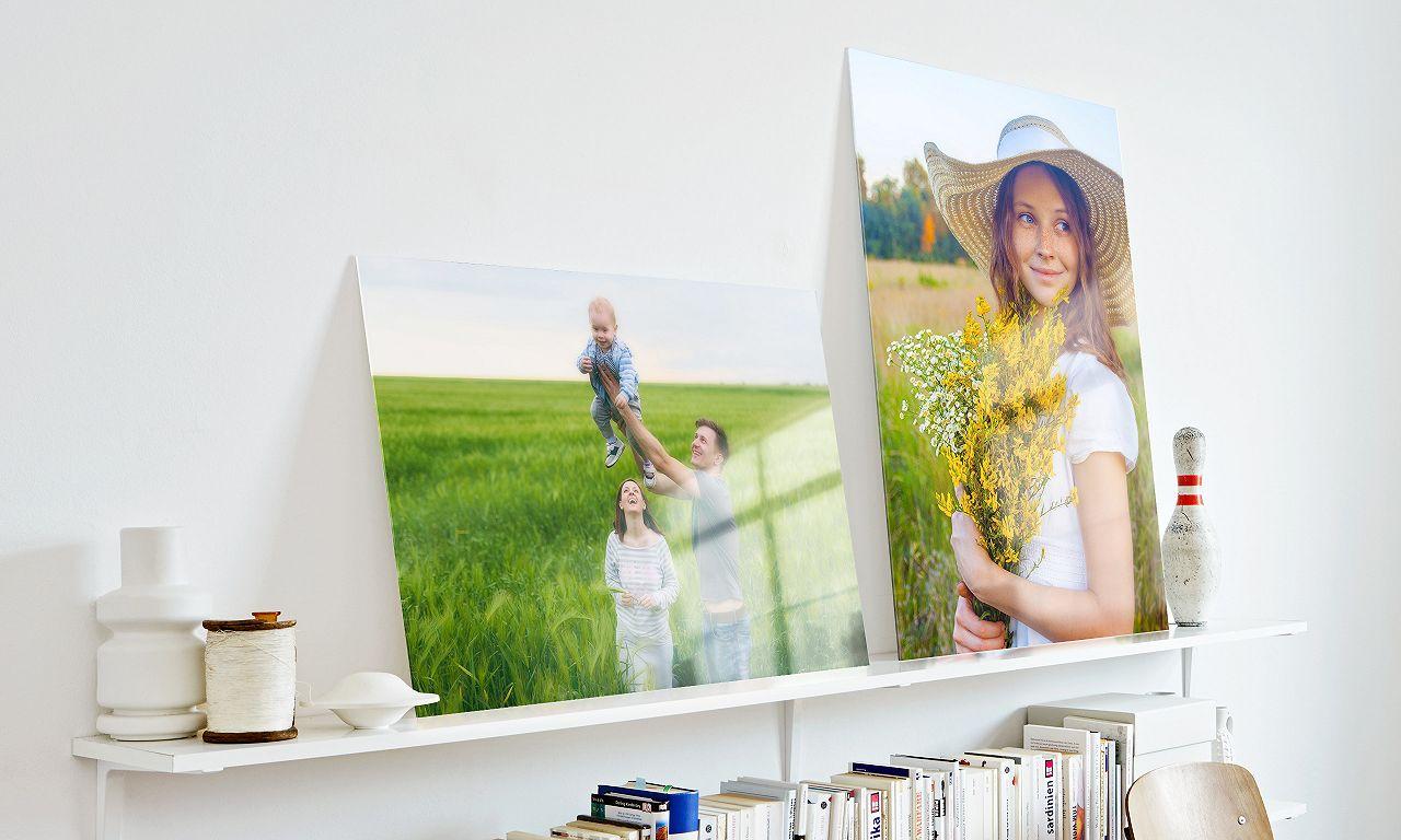 Acrylglas Frühlingsbild