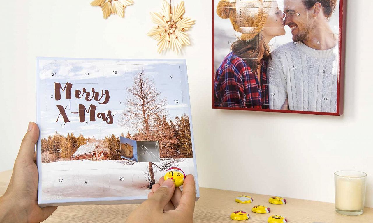 Adventskalender Lindt HELLO EMOTIS