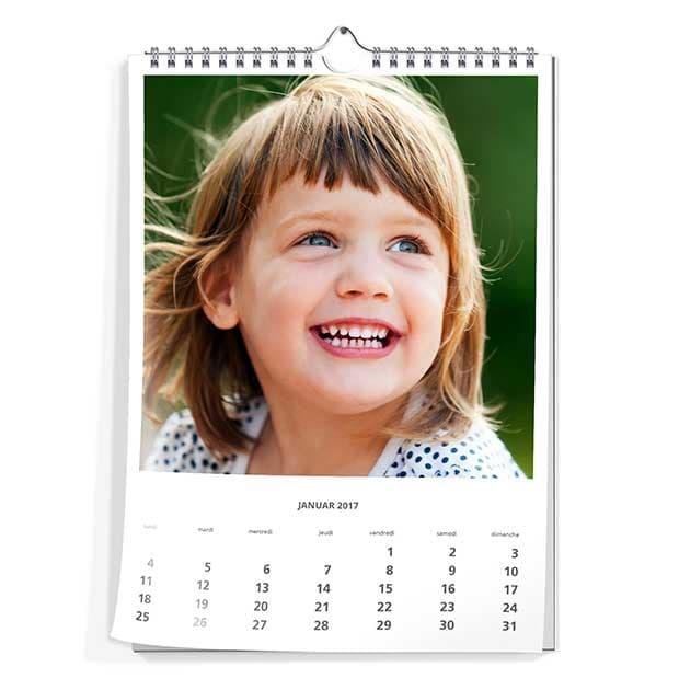 Fotokalender DIN A4 staand