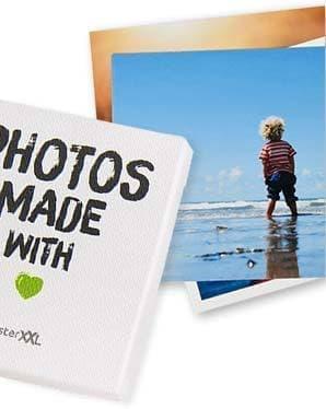 Retro foto's met box, 25 foto's