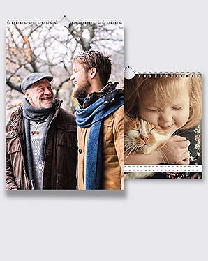 Fotokalender DIN A4 hoch