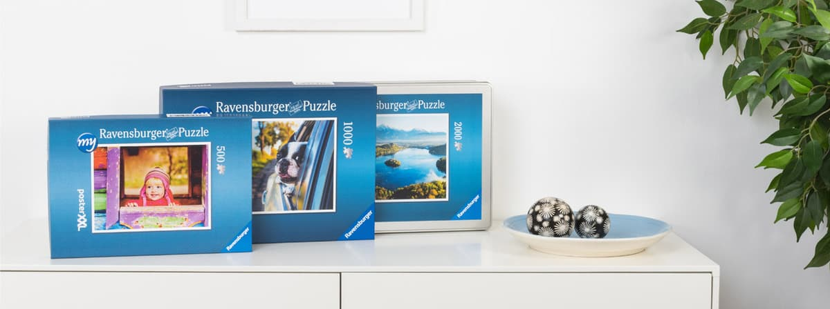 fotopuzzle von ravensburger selbst gestalten posterxxl. Black Bedroom Furniture Sets. Home Design Ideas