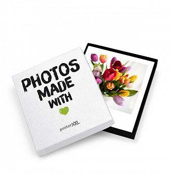 Photos rétro avec boîte, 25 Photos