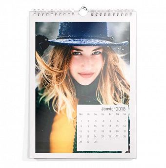 Calendrier photo DIN A4 portrait